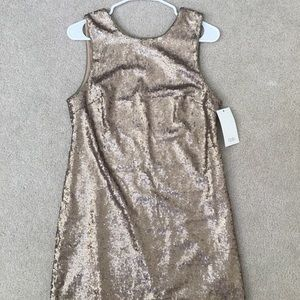 TOBI Promises Sequin Shift Dress